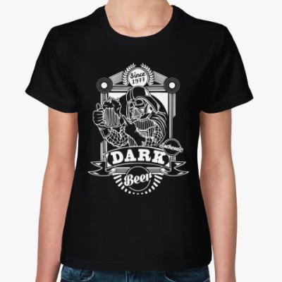 Женская футболка Темная Сторона