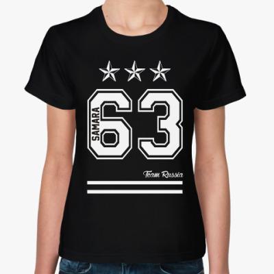 Женская футболка Самара