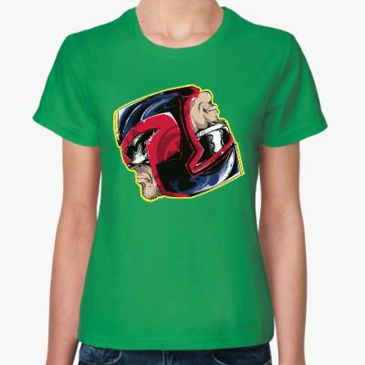 Женская футболка Судья Дредд