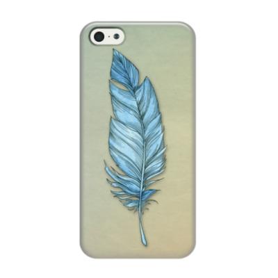 Чехол для iPhone 5/5s Легкое перо