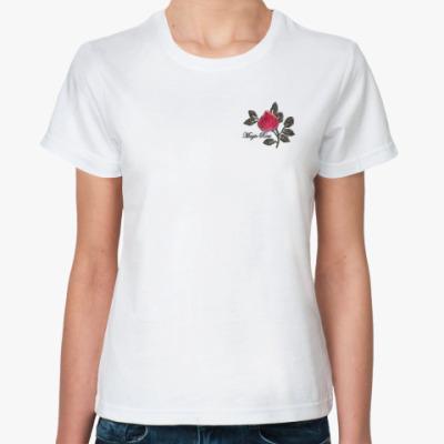 Классическая футболка  Magic Rose