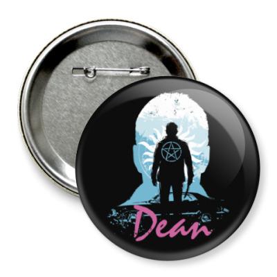 Значок 75мм Dean - Supernatural