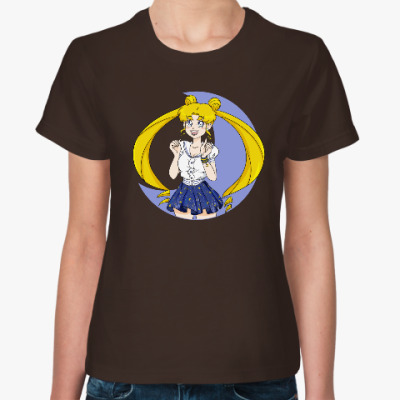 Женская футболка Usagi Tsukino Sailor moon