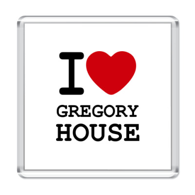 I Love Gregory House