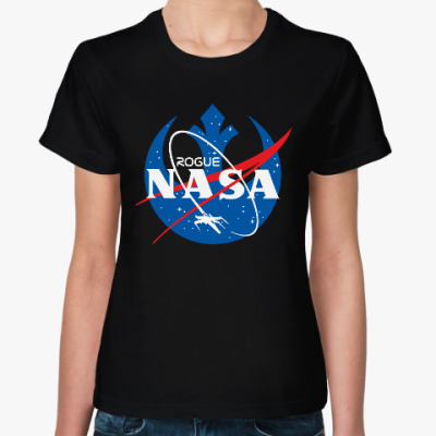Женская футболка НАСА