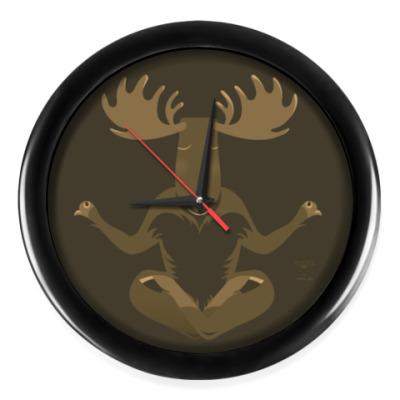 Настенные часы Animal Zen: M is for Moose