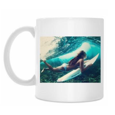 Кружка Серфингистка