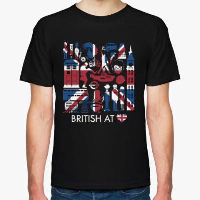 Футболка Британия в сердце