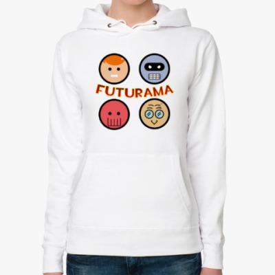 Женская толстовка худи Толстовка женская Futurama