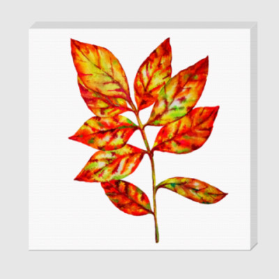 Холст Осенний лист