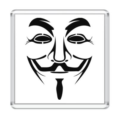 Магнит Маска Анонимуса