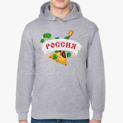 Толстовка худи Россия