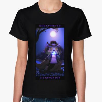 Женская футболка Dreamfinity Mageweave, женская, черная