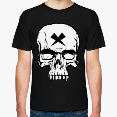 Футболка Vampire Skull