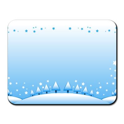 Коврик для мыши Снежинка