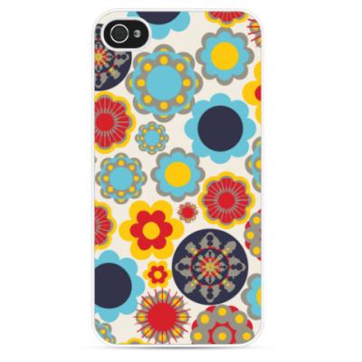 Чехол для iPhone Seamless Floral