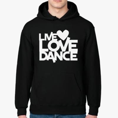 Толстовка худи Live Love Dance
