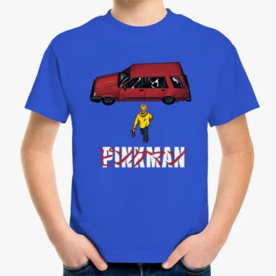 Детская футболка Pinkman car