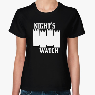 Женская футболка Nights watch