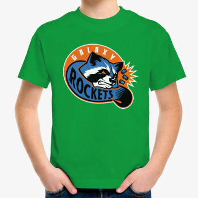 Детская футболка Galaxy Rockets
