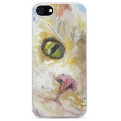 Чехол для iPhone Нежный котик
