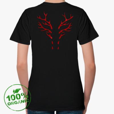 Женская футболка из органик-хлопка Hannibal