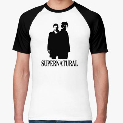 Футболка реглан Supernatural Sam&Dean