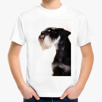 Детская футболка   'цвергшнауцер'