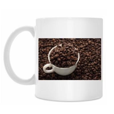Кружка Инь-янь из кофе
