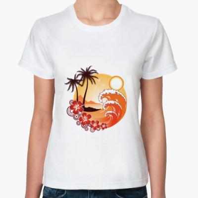 Классическая футболка  'Тропики'