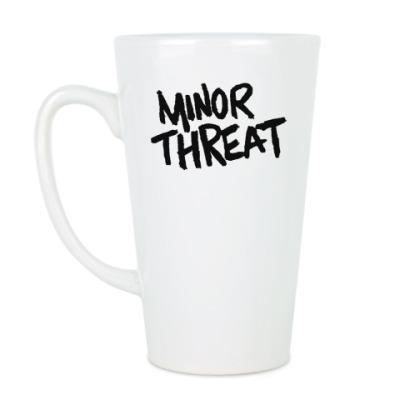 Чашка Латте Minor threat