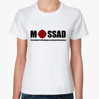 Классическая футболка Mossad