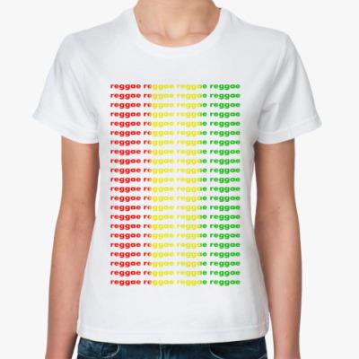 Классическая футболка 'Раста-Регги'