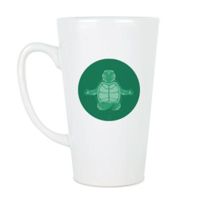 Чашка Латте Animal Zen: T is for Turtle