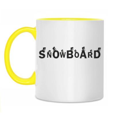 Кружка Snowboard