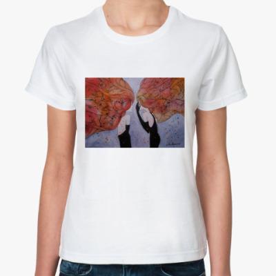 Классическая футболка Keep my secret