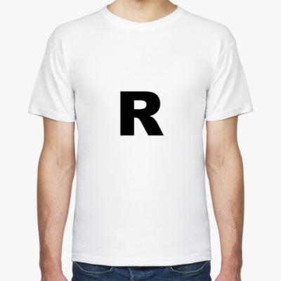 Футболка Буква R
