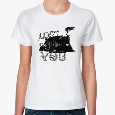 Классическая футболка Lost On You
