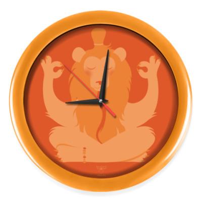 Настенные часы Animal Zen: L is for Lion