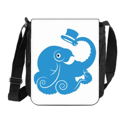 Сумка на плечо (мини-планшет) Сэр осьминог