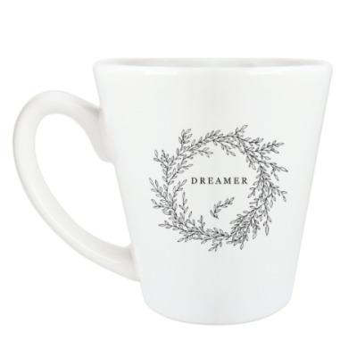 Чашка Латте Венок из веток Dreamer