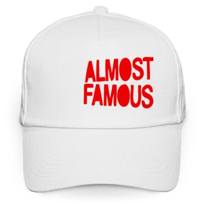 Кепка бейсболка Надпись ALMOST FAMOUS