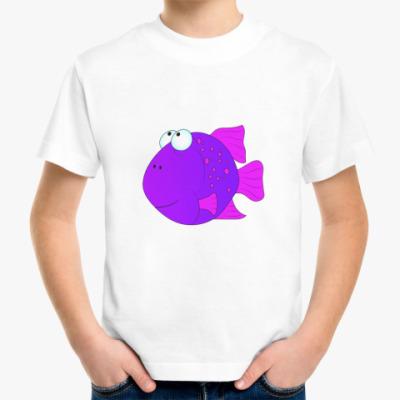 Детская футболка Fish