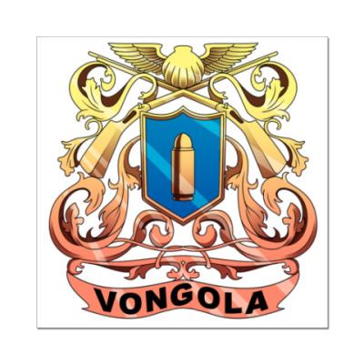 Наклейка (стикер)   Vongola