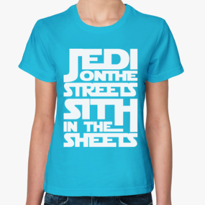 Женская футболка Джедаи и Ситхи (Звездные Войны)