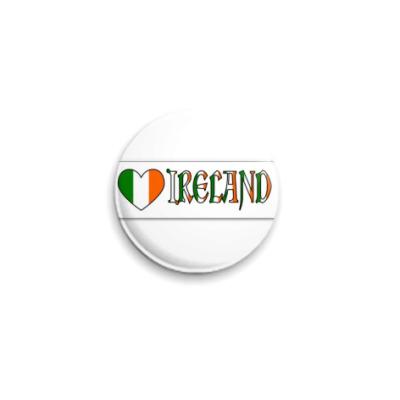 Значок 25мм  'Ирландия'