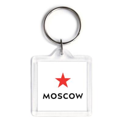 Брелок логотип Москвы