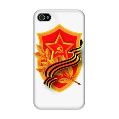 Чехол для iPhone 4/4s День Победы