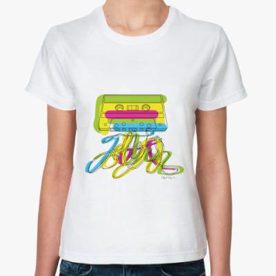 Классическая футболка Кассета