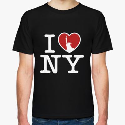 Футболка I Love NY